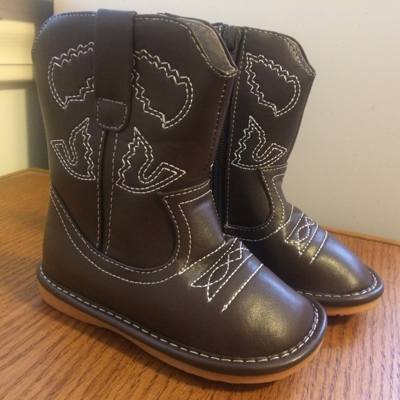 478f284851 Laniecakes Other - Laniecakes toddler brown squeaker boots